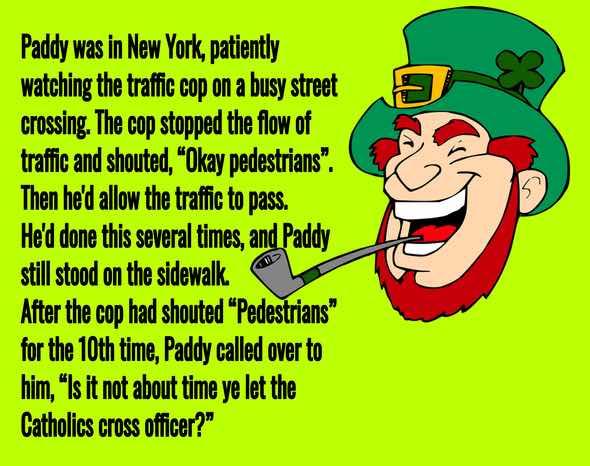 Funny Irish Leprechauns