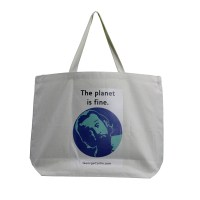 The Planet Is Fine Tote Bag