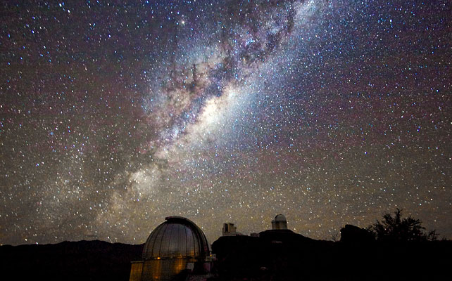 If scaling the sun down to the size of a white blood cell, the Milky Way would be equal the size of the United States.