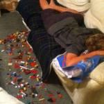 Painful Lego Prank