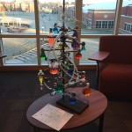 Christmas tree for the scientists