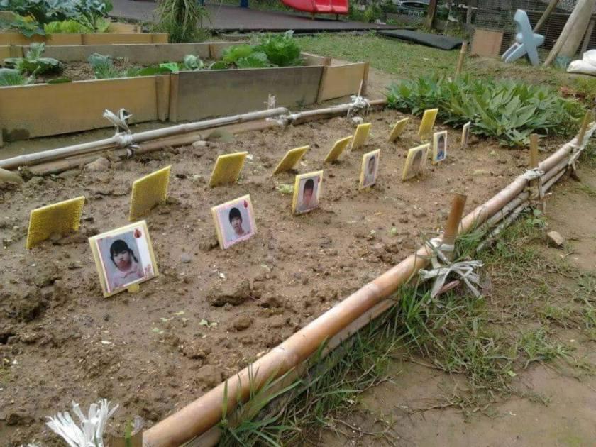 Creepy kindergarten garden