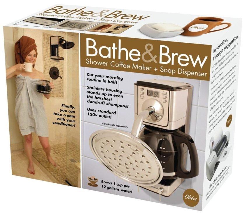 Prank Pack Bathe & Brew Shower Coffee Maker