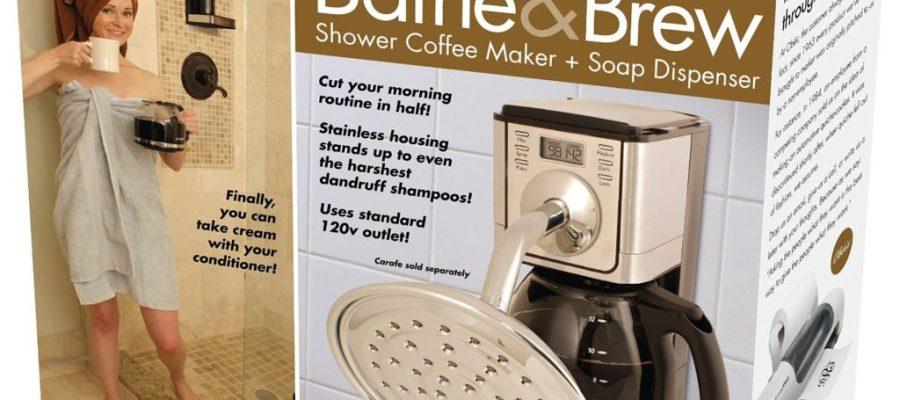 Prank Pack Bathe & Brew Shower Coffee Maker
