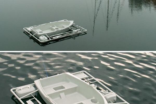 DIY Boat from Ikea