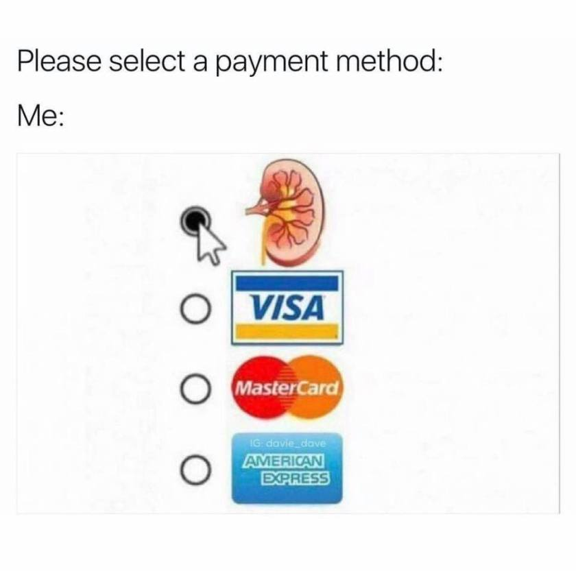 Please select a payment method