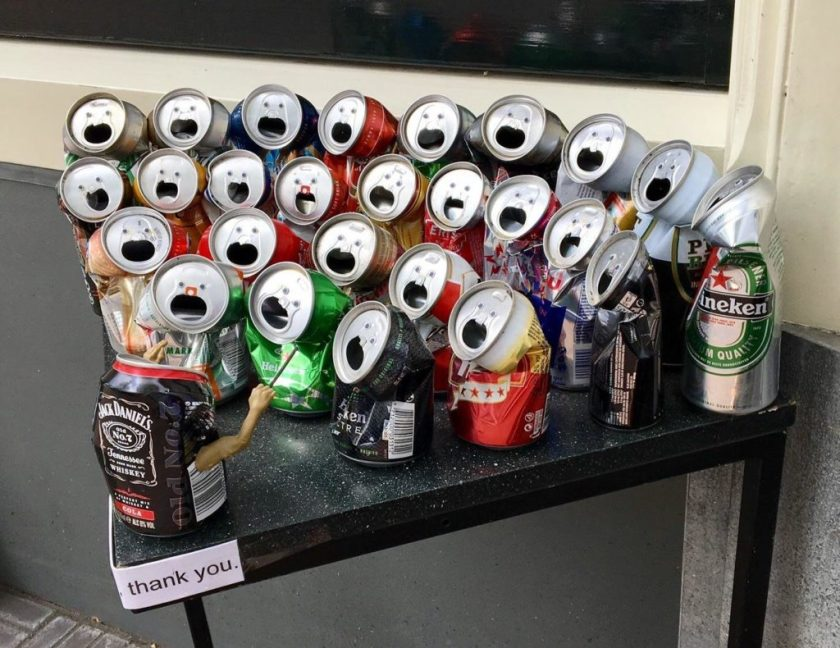 Soda Cans Choir