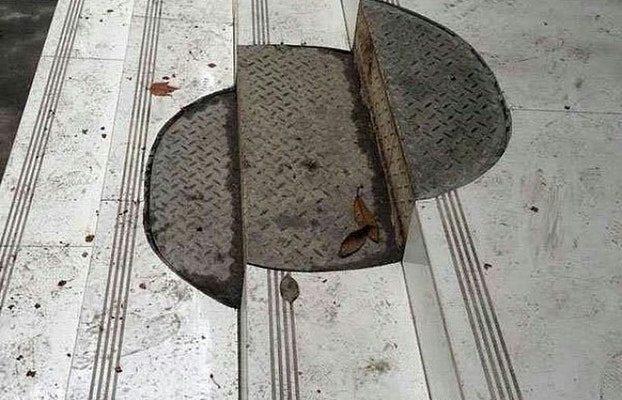 Unique Manhole Cover