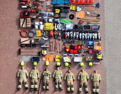 Contents of a single firetruck