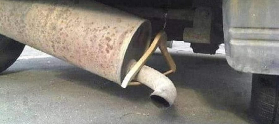 Fixing the muffler professionally