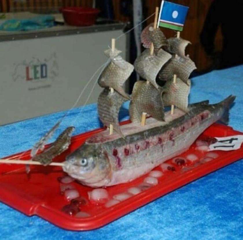 Sashimi Boat Literally