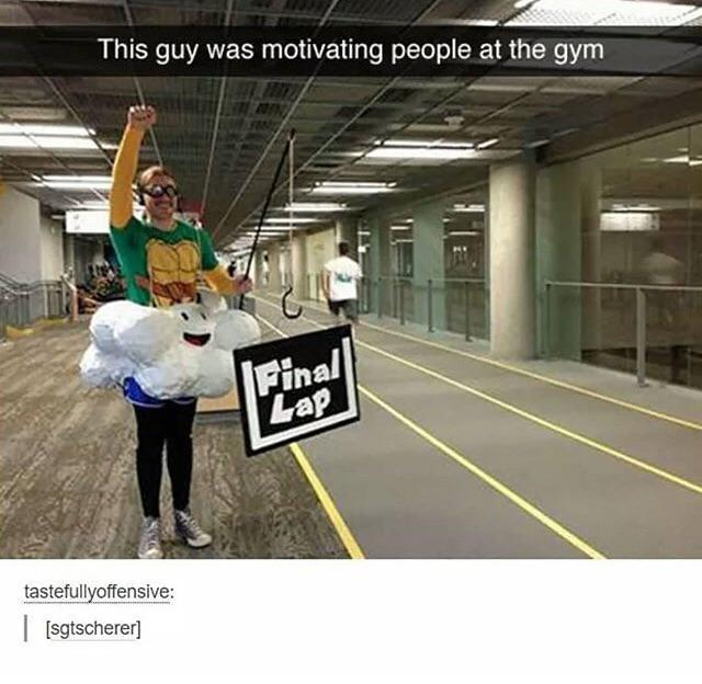 I wish this guy is in my gym