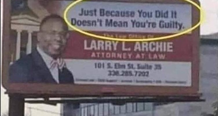 Just because you did it Doesn't mean you are guilty