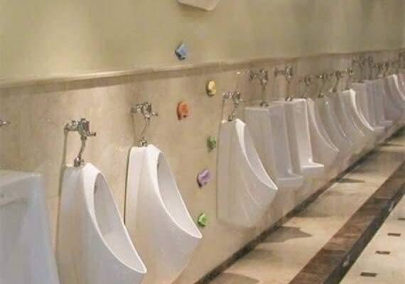 Urinal Up High