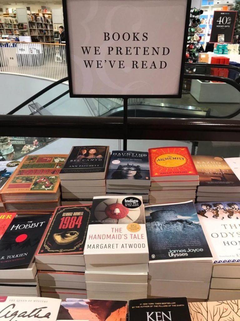 Books we pretend we've read