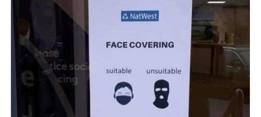 Unacceptable mask