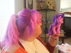 Pink Hair and the Unicorn