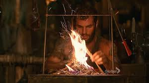 Survivor Make Fire