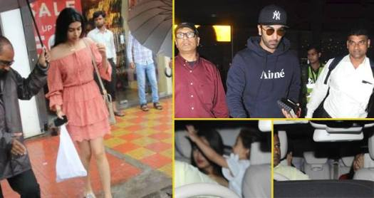Misha along with mom picks up daddy Shahid at airport, Khushi Kapoor enjoys special lunch date