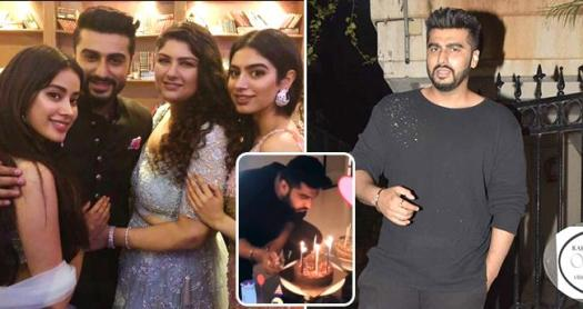 Sister Janhvi Kapoor And Anshula Kapoor make Cute Birthday Wishes on Arjun kapoor's Birthday