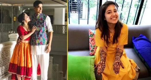Masaan Actress Shweta Tripathi's Mehndi Depicts Her Love Story