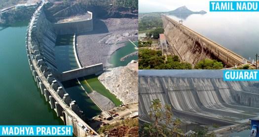 8 Major and Beautiful Dams of India