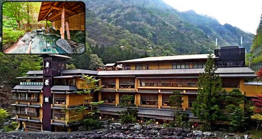 A Sneak Peek Into World's Oldest Hotel In Japan Which Is Running Since 705 A.D.