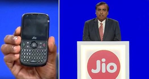 Mukesh Ambani rolls out JioGigaFiber along with JioPhone2