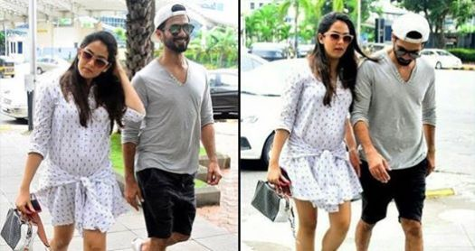 Shahid And Mira Kapoor Sport A Casual Look On A Lunch Date In Mumbai