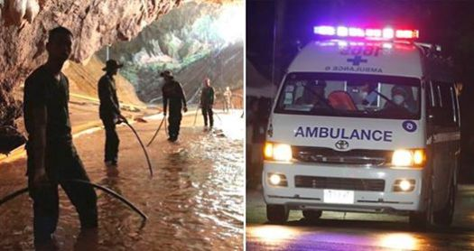 Thailand Cave: Four Out Of Twelve Children Rescued And Mission To Rescue Others Has Started