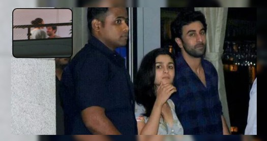 Ranbir Kapoor papped with Alia Bhatt and Mahesh Bhatt at their residence