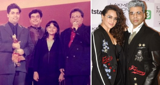 KJo Shares A Major Throwback Picture With Sonakshi Sinha And It Is All About Double Chin Days