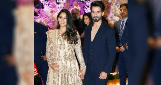 Mira Rajput flaunts her baby-bump with utmost grace and beauty at the Ambani's wedding