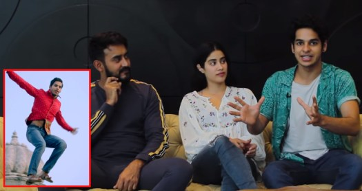 Janhvi, Ishaan And Shashank Reveal The Experience Of Jump Of Faith While Filming A Song Sequence