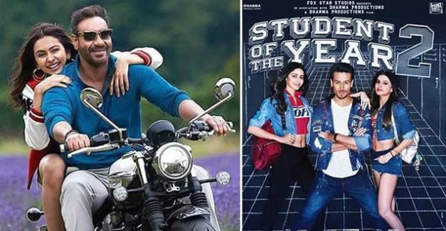 BO collection: Ajay Devgn starrer De De Pyaar De completes robust week, SOTY-2 remains low
