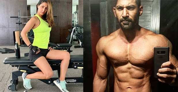 Check out the pictures of TV celebs flaunting their body in gym