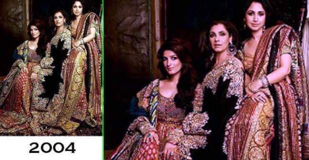 This Throwback Picture Of Bollywood's famous Mother & Daughters Trio Redefines Royalty