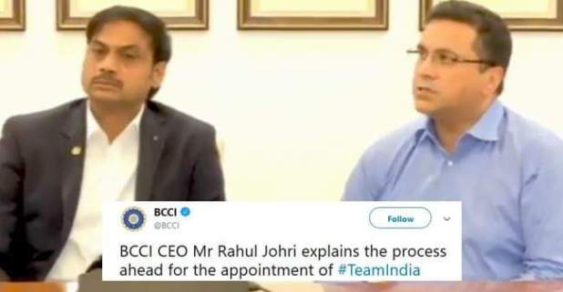 Rahul Johri, BCCI CEO explains appointment process of Team India Support Staff