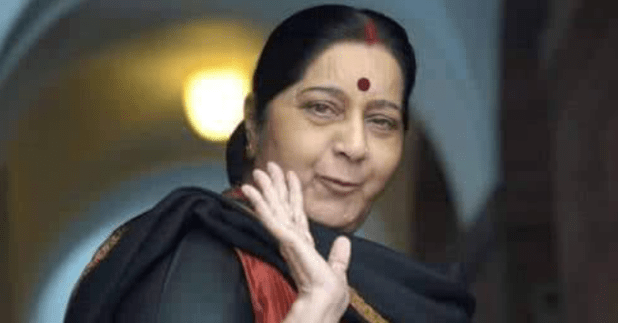 After hearing her dream decision by PM, BJP Stalwart Sushma Swaraj breathed her last