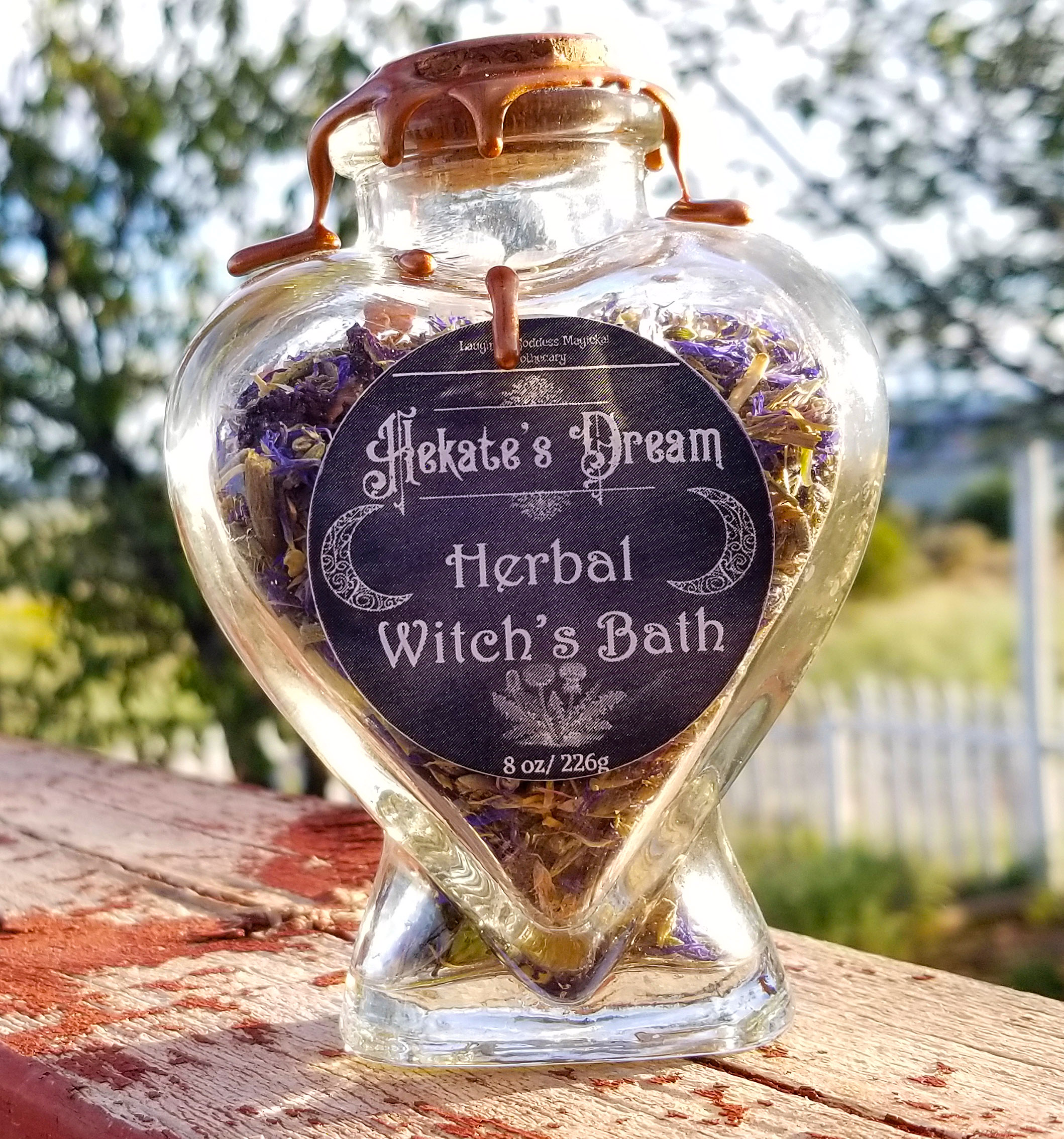 Hekate Witch's Bath | Laughing Goddess Magickal Apothecary
