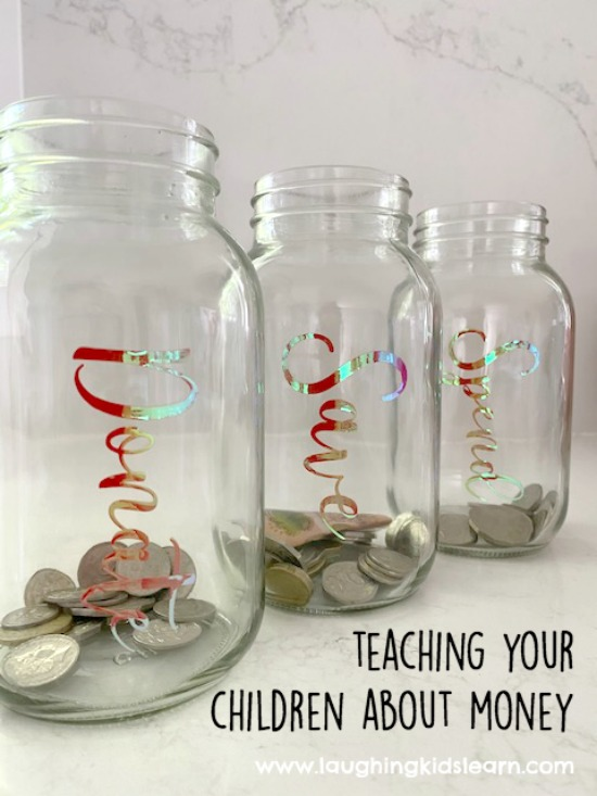 — Teaching children about money with jars