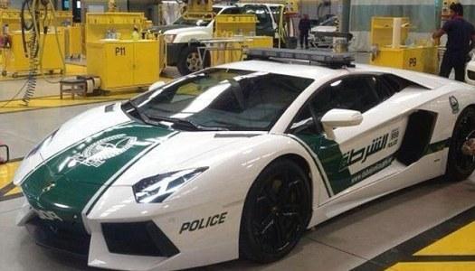 dubai police show off their lamborghini aventador patrol car - Lamborghini Egoista Police