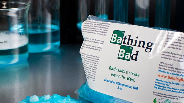 Bathing Bad Blue Rock Bath Salts Inspired By Breaking