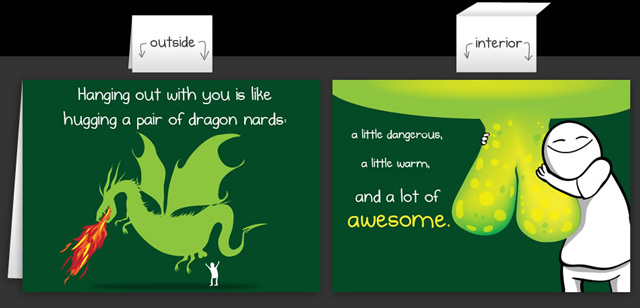 Horrible Greeting Cards By The Oatmeal
