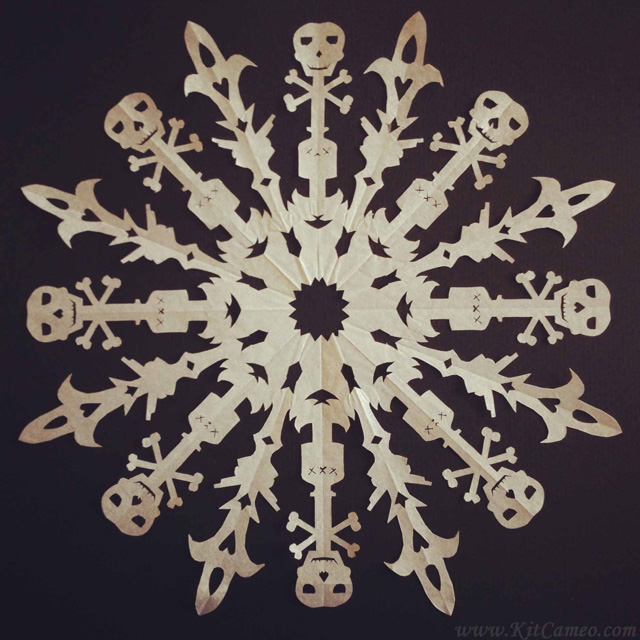 Sixteen-pointed Pirateflake