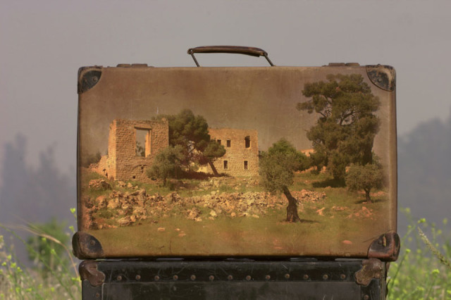 Memory Suitcases by Yuval Yairi