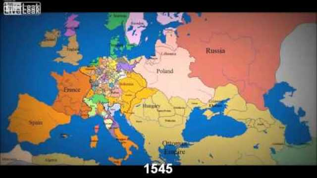 Animated gif showing historical maps of the known world from 2348 an animated map of europe 1000 ad to the present gumiabroncs Images