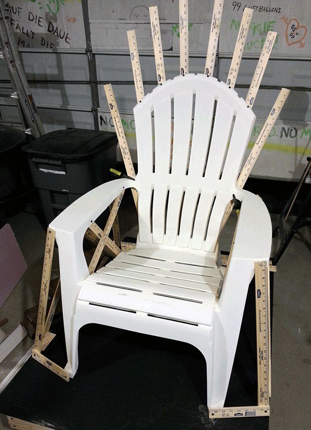 black throne chair covers for sale walmart how to build a replica of the iron from 'game thrones'