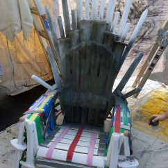 Game Of Thrones Office Chair Shower Transfer How To Build A Replica The Iron Throne From Homemade