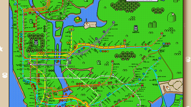 A map of san franciscos bay area rapid transit system designed in new york city subway map in the style of super mario world gumiabroncs Gallery